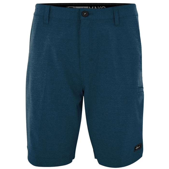 Pelagic Mako Hybrid Short - Navy - OffshoreApparel.com