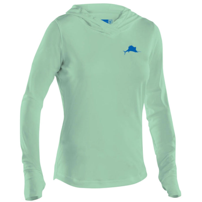 Pelagic - Ultratek Hooded Sunshirt - Seafoam - OffshoreApparel.com