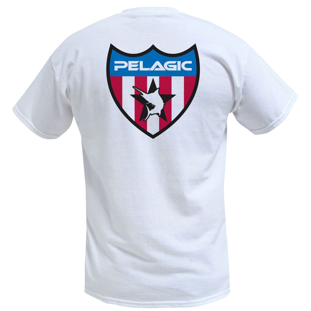 Pelagic - United Marlin Tee - White - OffshoreApparel.com