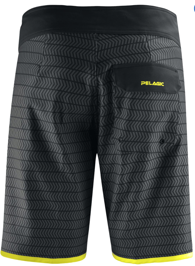 Pelagic - The Wedge Boardshort - Black Swerve - OffshoreApparel.com