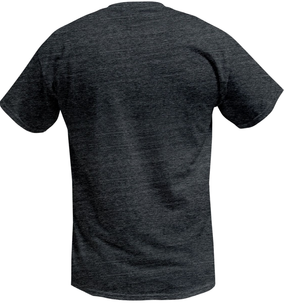 Pelagic - Premium Electric Bluefin Tee - Heather Charcoal - OffshoreApparel.com