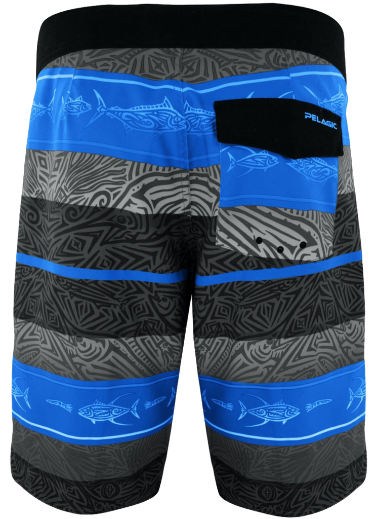 Pelagic - Microtek Boardshort - Midnight Island - OffshoreApparel.com
