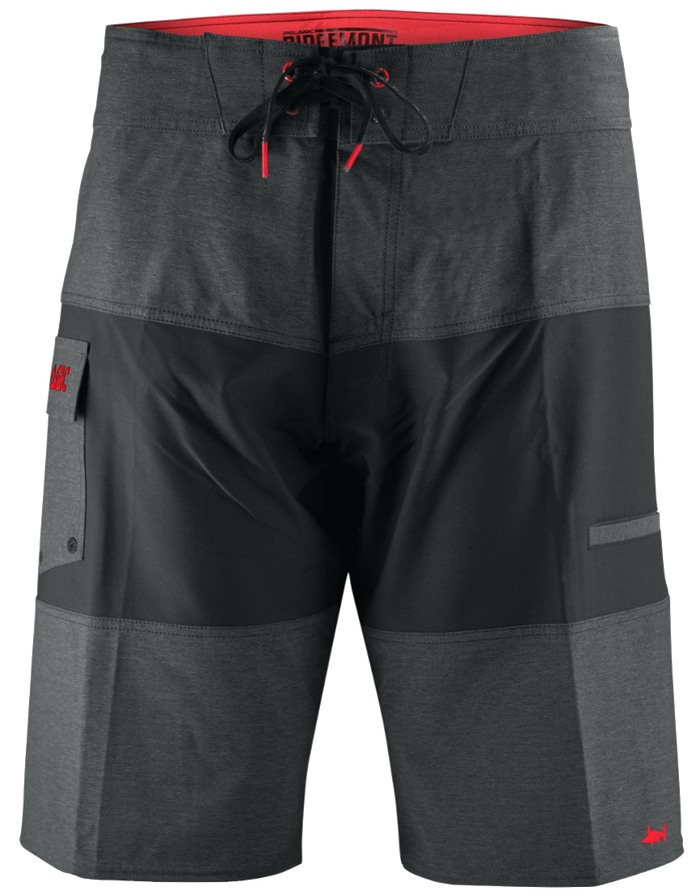 Pelagic - Ridgemont Boardshort - Charcoal/Black - OffshoreApparel.com