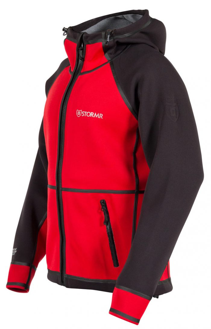 STORMR -New Typhoon Jacket - Black/Red