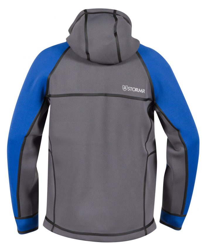 STORMR -New Typhoon Jacket - Blue/Grey