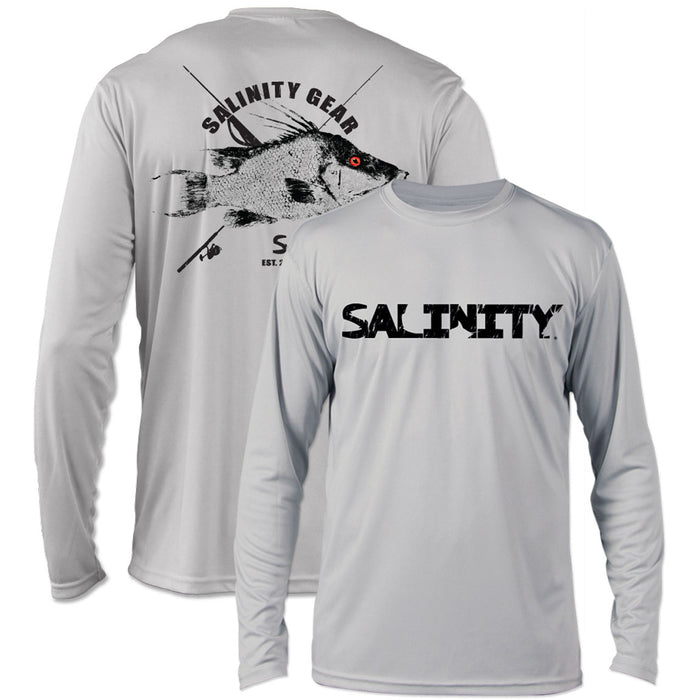 Salinity - Reel vs Steel Hogfish Performance - Grey - OffshoreApparel.com