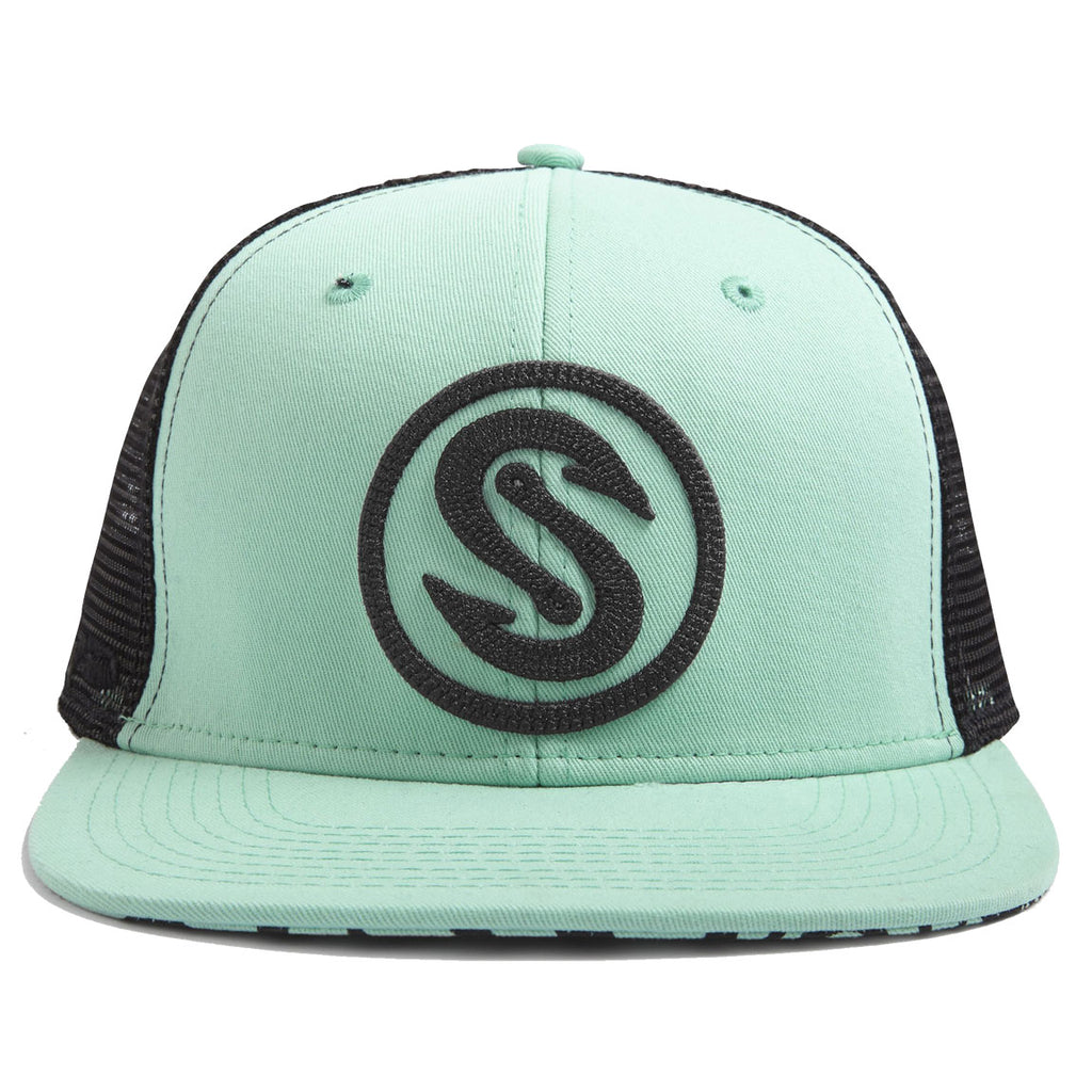Scales - Hook Stitch Snapback - Seafoam - OffshoreApparel.com