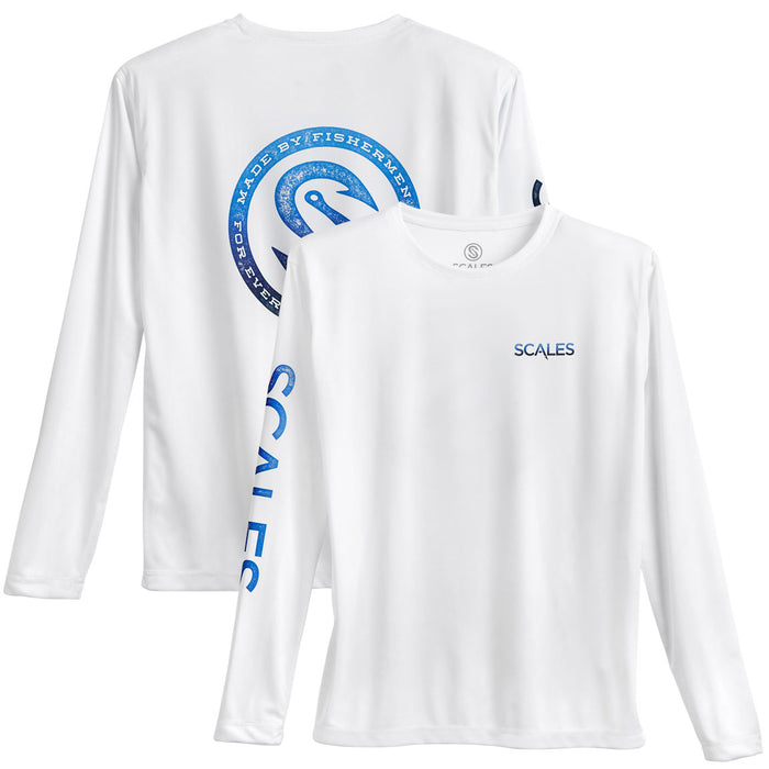 "Scales - ""Pro Performance""  Every Degree - White - OffshoreApparel.com"