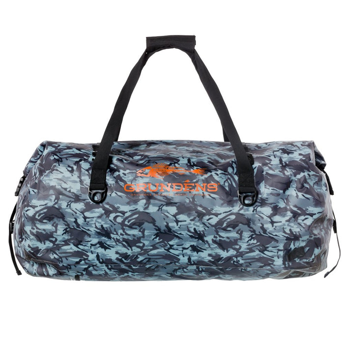 Grundens - 105L Shackelton Camo Duffel Bag - Refraction Camo