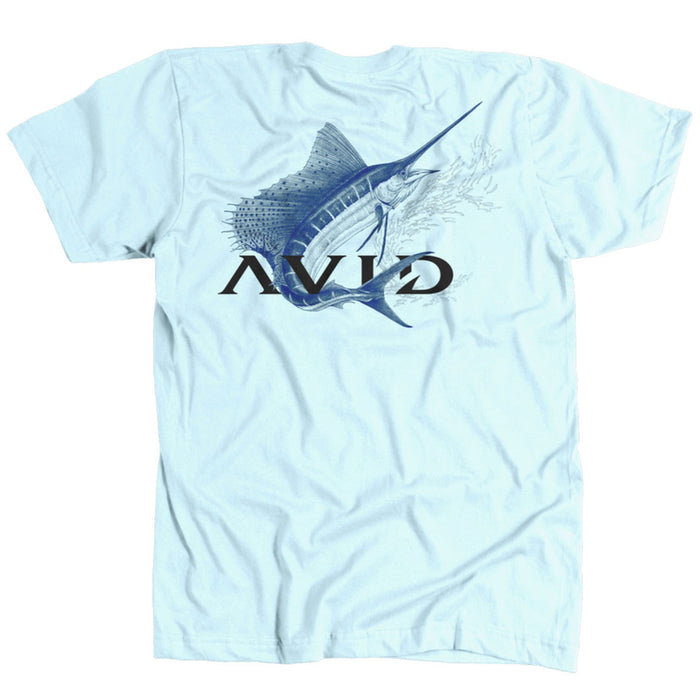 AVID - Full Sail Tee - Light Blue - OffshoreApparel.com