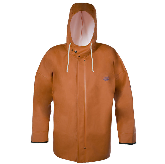 Grundens - Brigg 40 Parka-Orange - OffshoreApparel.com