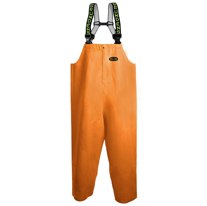 Grundens - Clipper 116 Bib Pant-Orange - OffshoreApparel.com