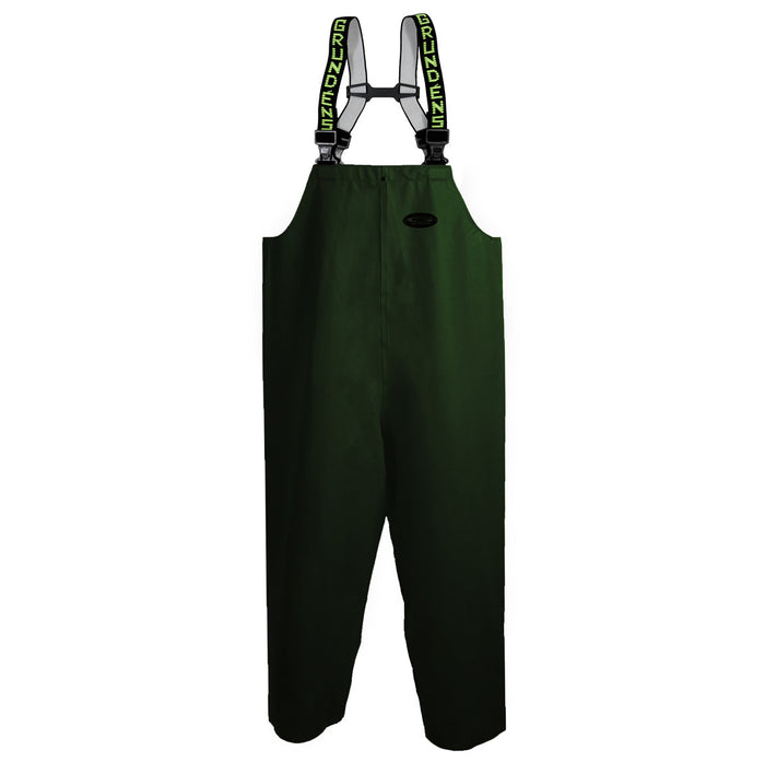 Grundens - Clipper 116 Bib Pant-Green - OffshoreApparel.com