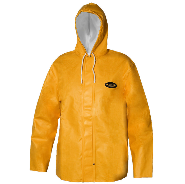 Grundens - Clipper 82 Parka-Orange - OffshoreApparel.com