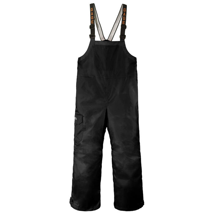 Grundens - Gauge-Weather Watch Bib Trouser- Black - OffshoreApparel.com