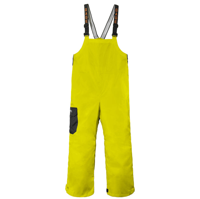 Grundens - Gauge-Weather Watch Bib Trouser Hi-Vis Yellow - OffshoreApparel.com