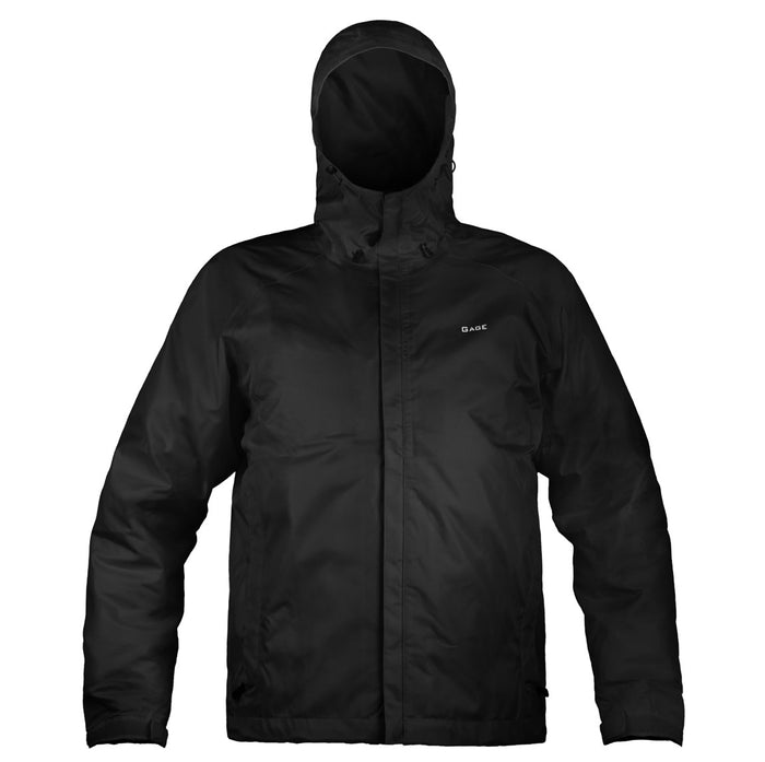 Grundens - Gauge-Weather Watch Hooded Jacket-Black - OffshoreApparel.com