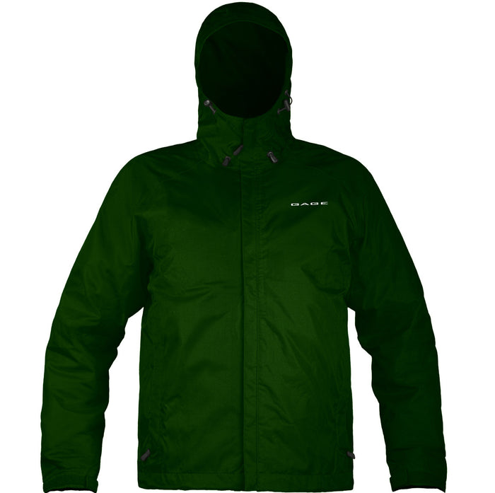 Grundens - Gauge-Weather Watch Hooded Jacket-Green - OffshoreApparel.com