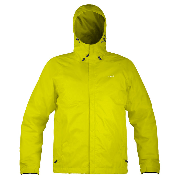 Grundens - Gauge-Weather Watch Hooded Jacket-Hi Vis Yellow - OffshoreApparel.com