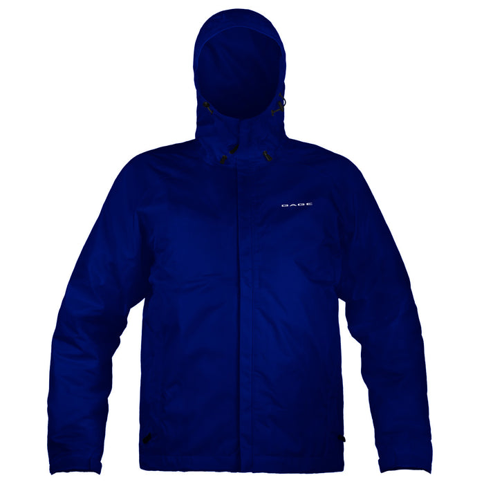 Grundens - Gauge-Weather Watch Hooded Jacket-Navy - OffshoreApparel.com