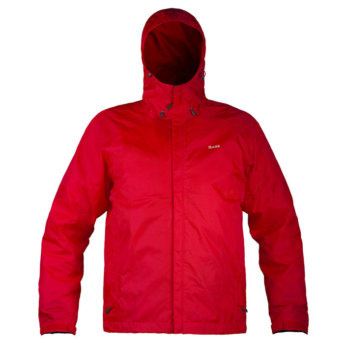 Grundens - Gauge-Weather Watch Hooded Jacket-Red - OffshoreApparel.com