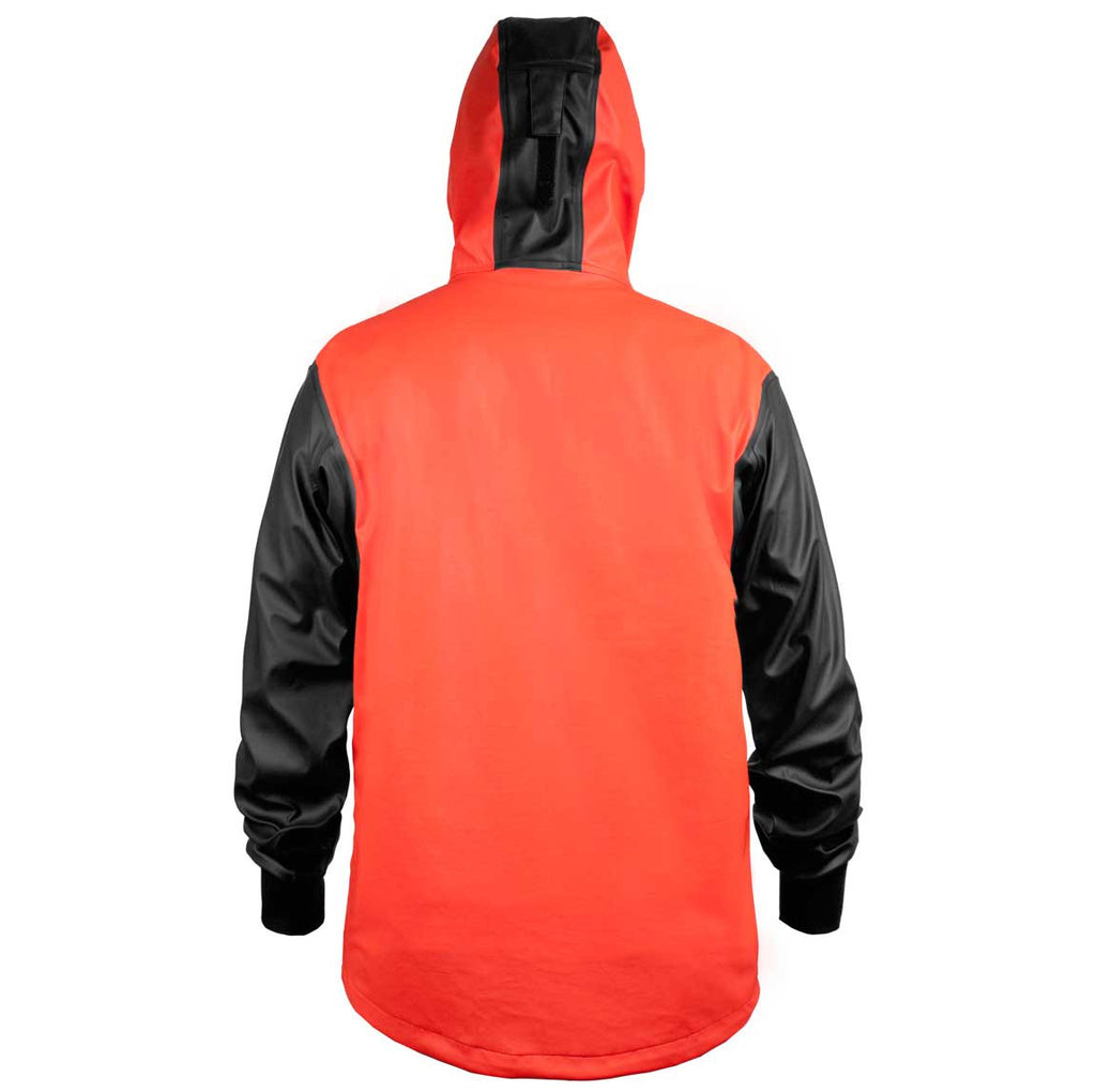 Grundens - Neptune 103 Anorak Jacket - Orange - OffshoreApparel.com