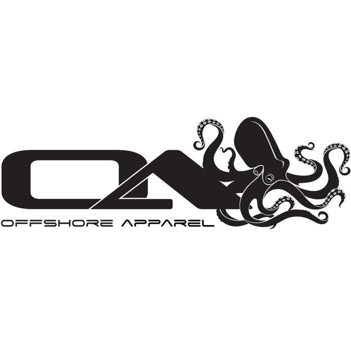 OA - Octo Decal - Black - OffshoreApparel.com