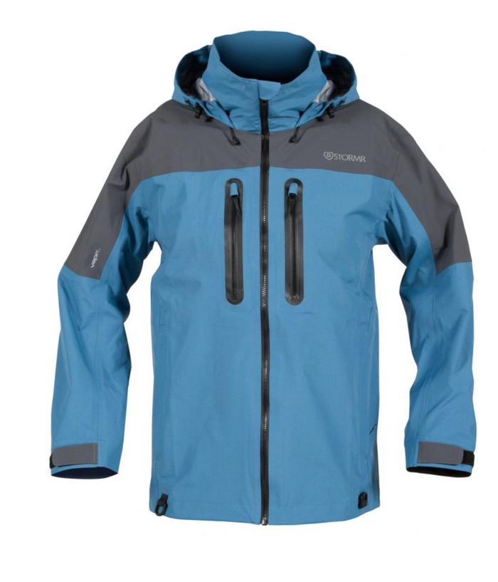 STORMR - Aero Jacket- Steel Blue - OffshoreApparel.com