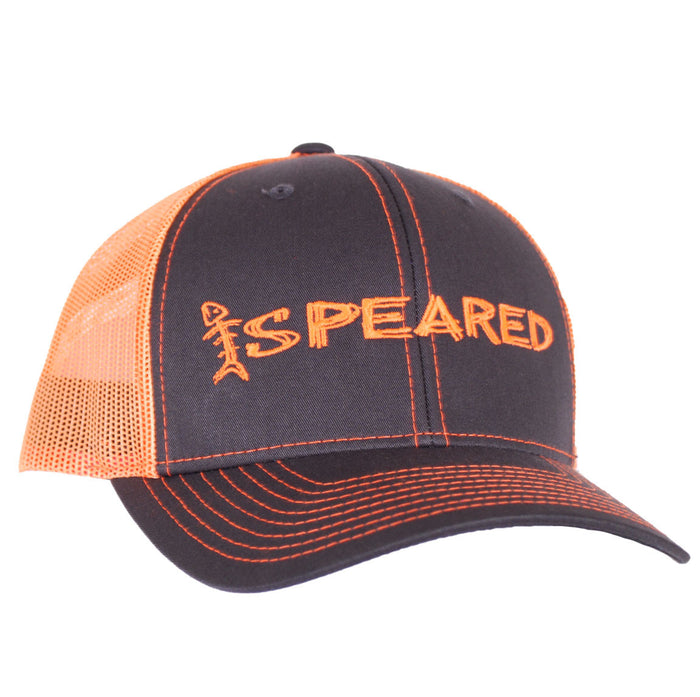 Speared - Trucker - Charcoal/Orange - OffshoreApparel.com