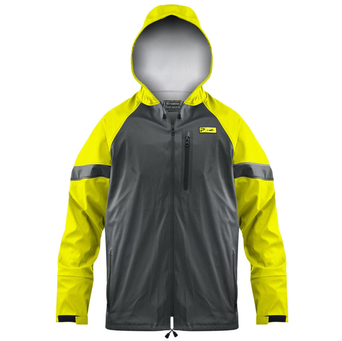 Pelagic - Stormbreaker Jacket - Safety / Charcoal - OffshoreApparel.com