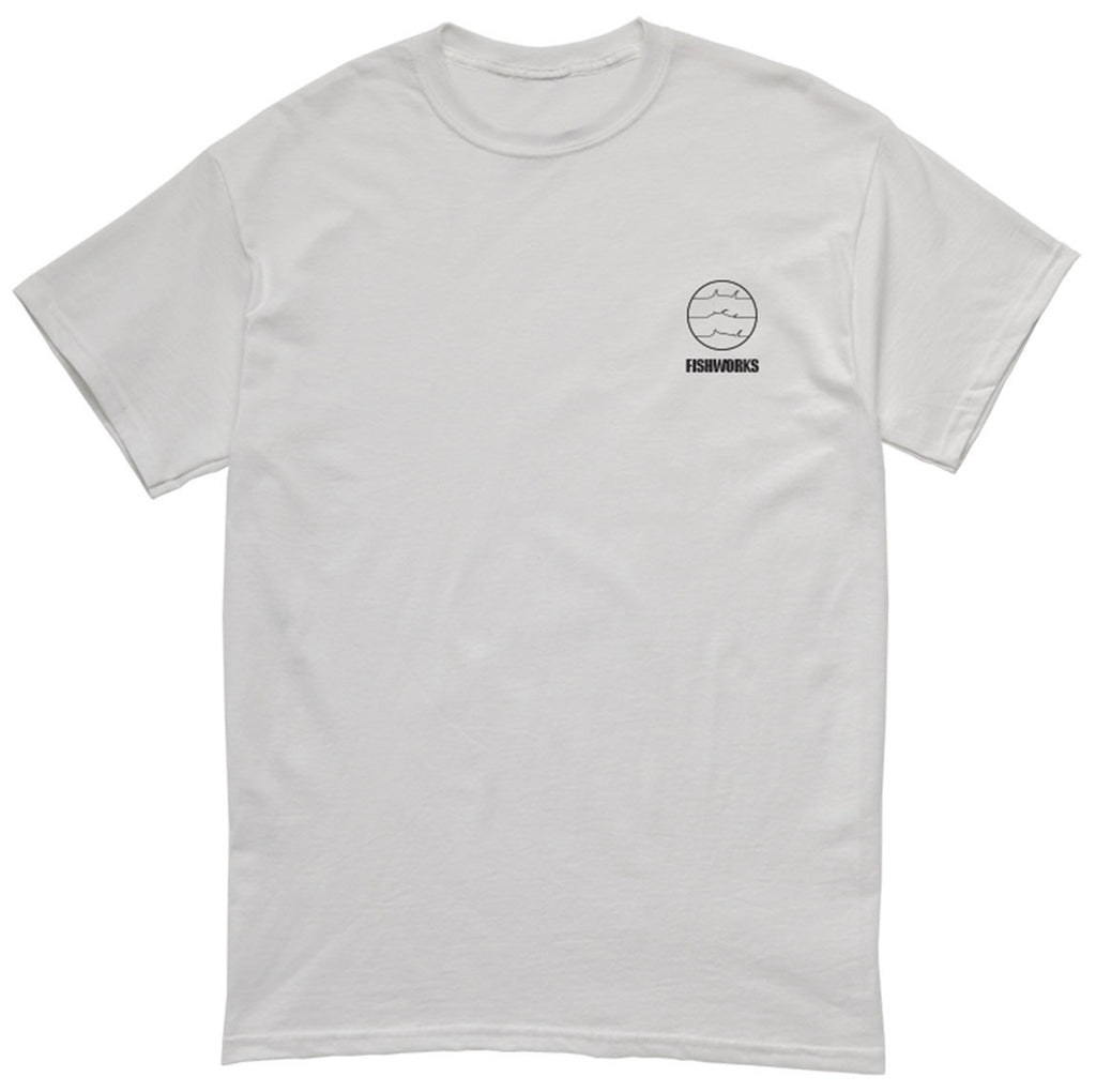Fishworks - Fine Lines Tee - White - OffshoreApparel.com
