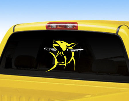 Slingfish - Large Yellowfin Decal - OffshoreApparel.com
