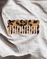 Large Acetate Wide Tooth Hair Comb