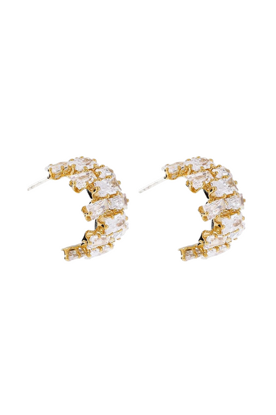The Coral Casino earring
