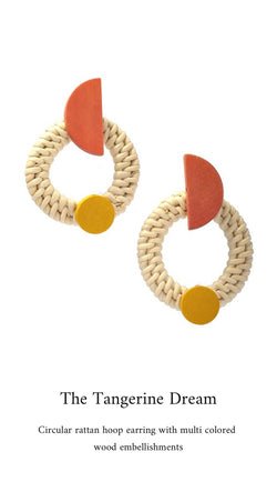 Tangerine Dream Earring