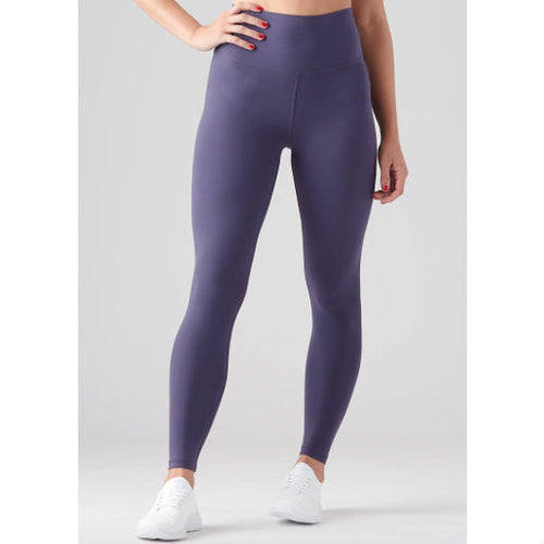 high waist pure legging :: night blue