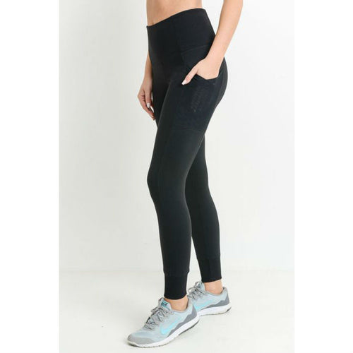 overlay side pockets full leggings