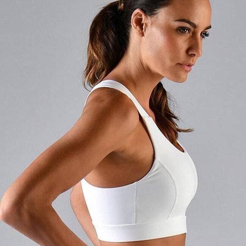 full force bra :: white