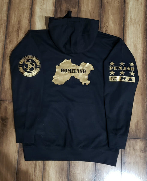 Son Of Punjab Gold Hoodie/ SweatShirt