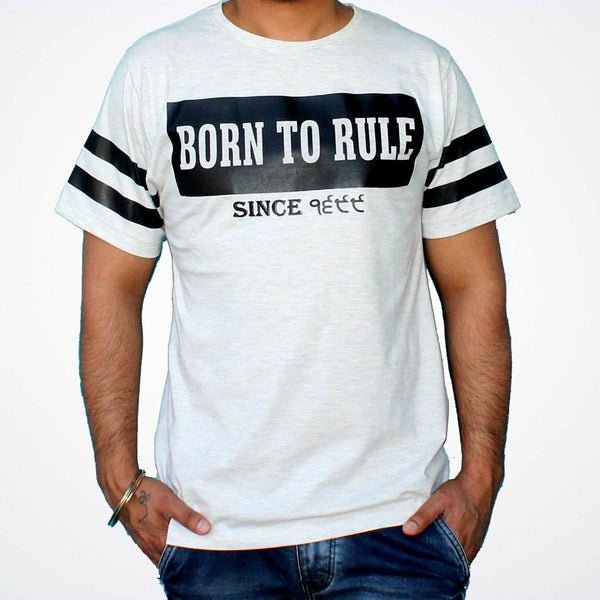 Born to Rule T-shirt | SikhBeard