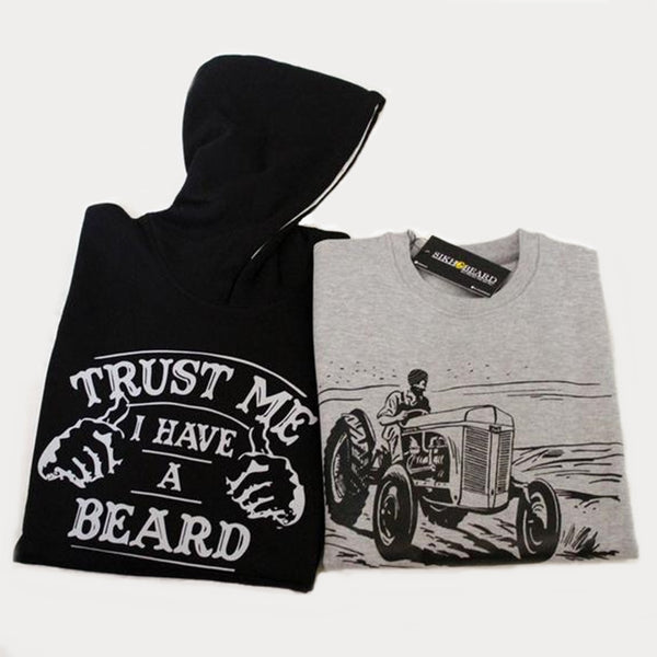 Beard Hoodie and Landlord Punjabi Sweatshirt pack