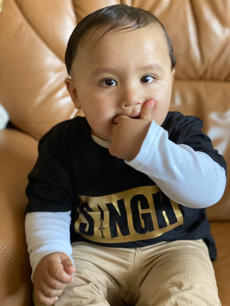 Singh Short Sleeve T-shirt For Kids