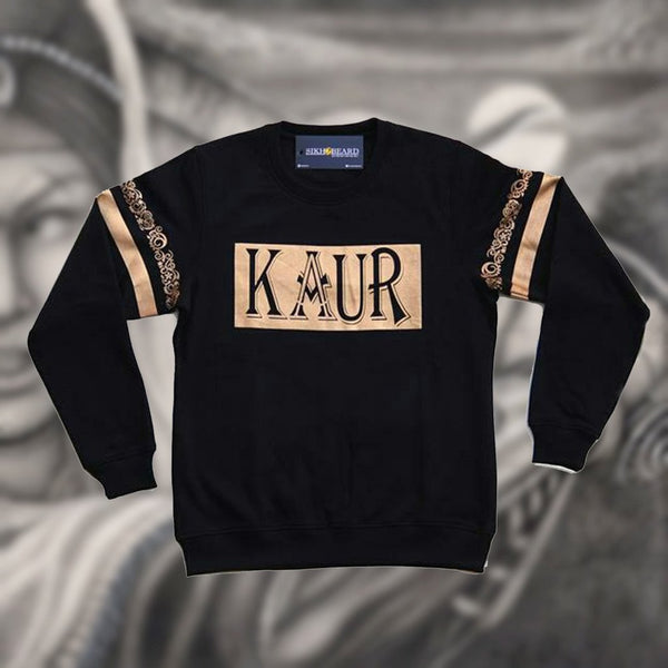 Kaur crewneck Punjabi Sikh ladies Sweater