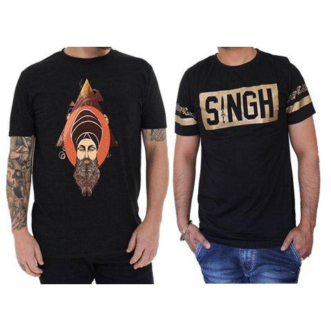 Singh + Beard God T-shirts Pack