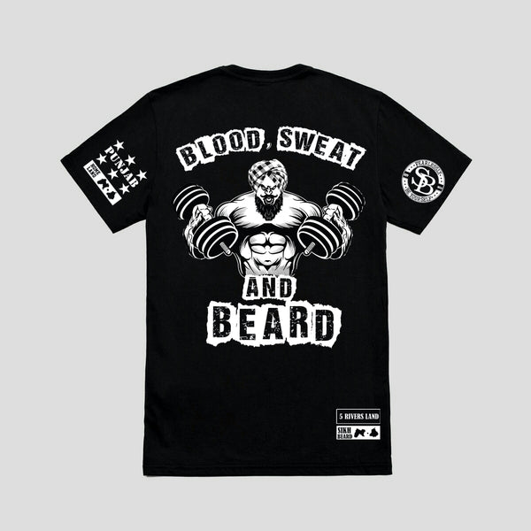 Blood Sweat And Beard T-Shirt/Full Sleeve