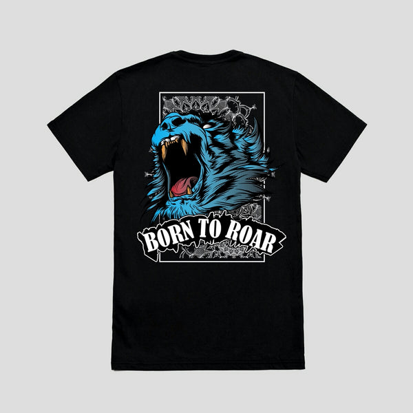 Born to Roar - Half Sleeve T-shirt
