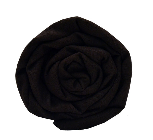 Full Voile Turban/Dumalla - Dark Chocolaty