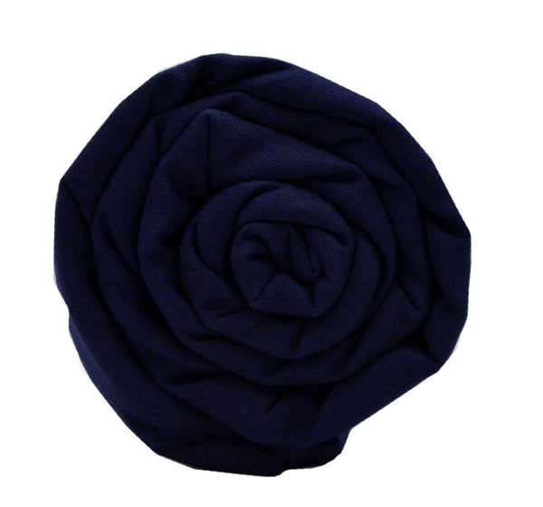 Full Voile Turban/Dumalla/Parna - Navy Blue (Khalsa Color)