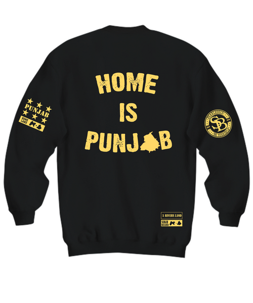 Home Is Punjab Gold Hoodie/Sweatshirt