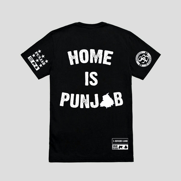 Home Is Punjab T-Shirt/ Full Sleeve
